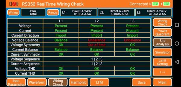 RS350 site analysis