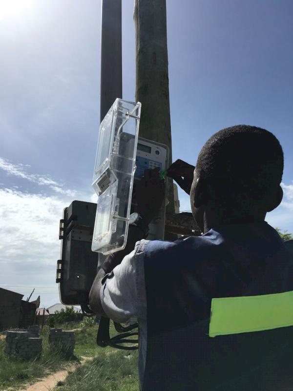 CLOU meter box installation 1